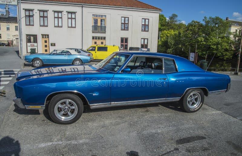 Chevrolet od 1970s's zdjęcie stock