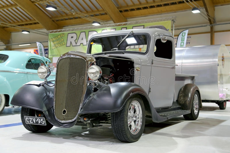 Download Chevrolet Pickup 1936 Vintage Car In A Show Editorial Stock Image - Image: 41887984