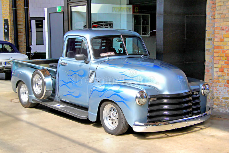 Chevrolet postępu projekt zdjęcie stock