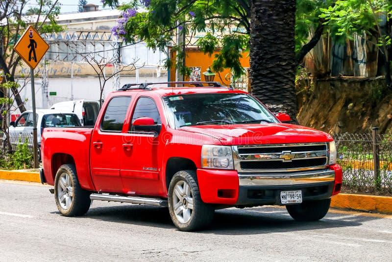 Chevrolet Silverado royalty-vrije stock afbeeldingen