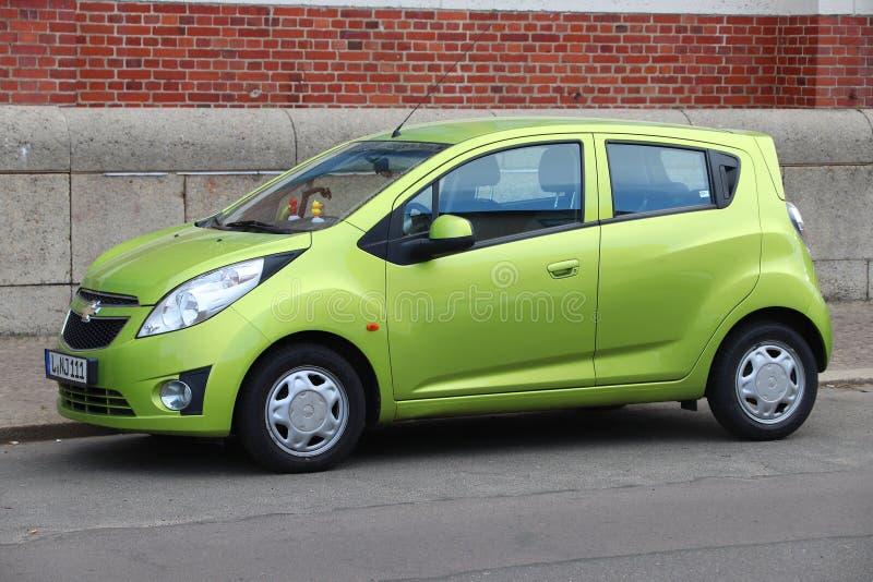 Chevrolet-stadsauto stock foto