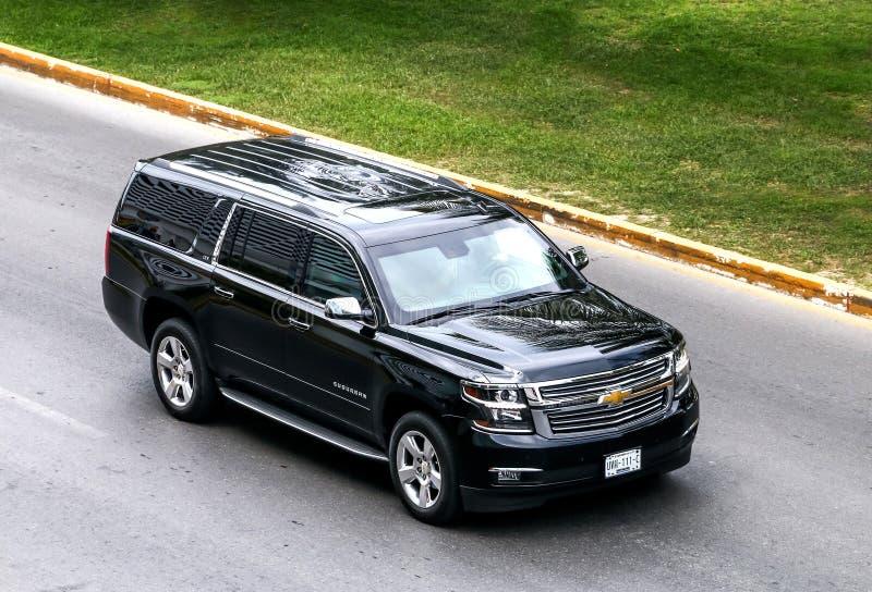 Chevrolet Suburban fotografia stock libera da diritti