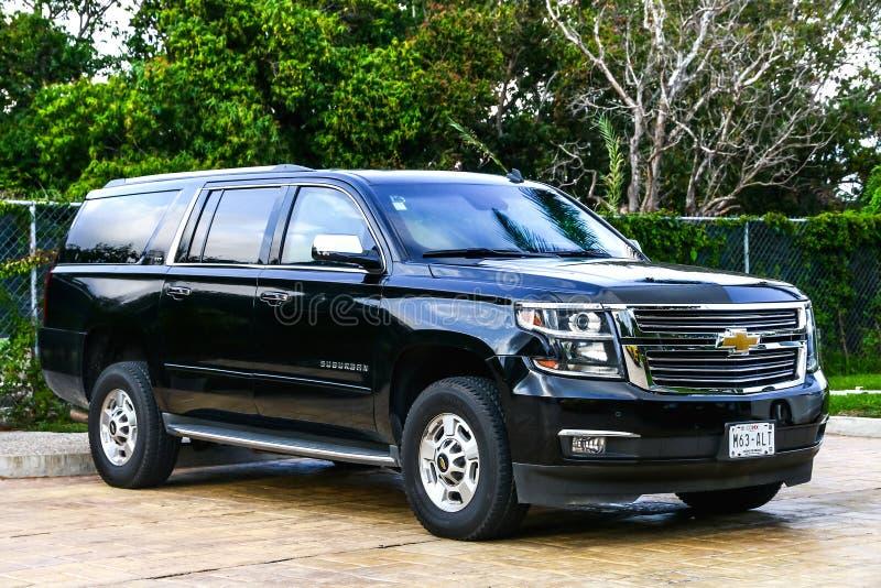 Chevrolet Suburban immagini stock libere da diritti