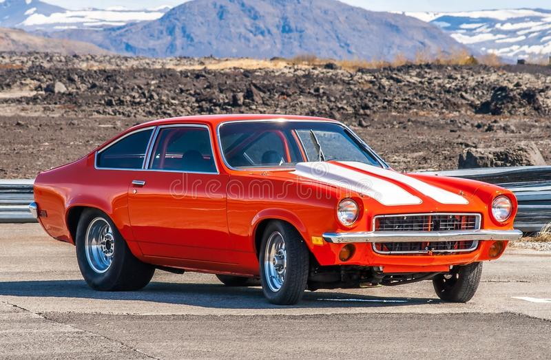 Chevrolet Vega immagine stock libera da diritti
