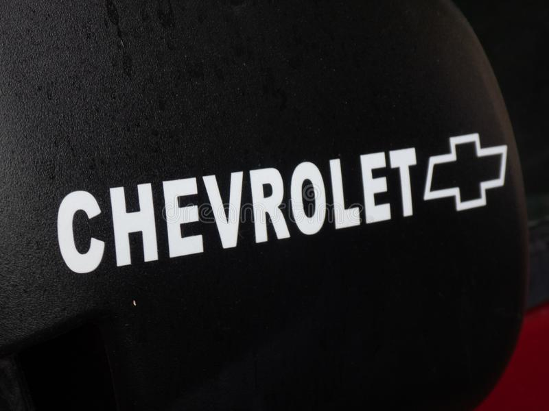 Chevrolet-voertuigembleem stock foto