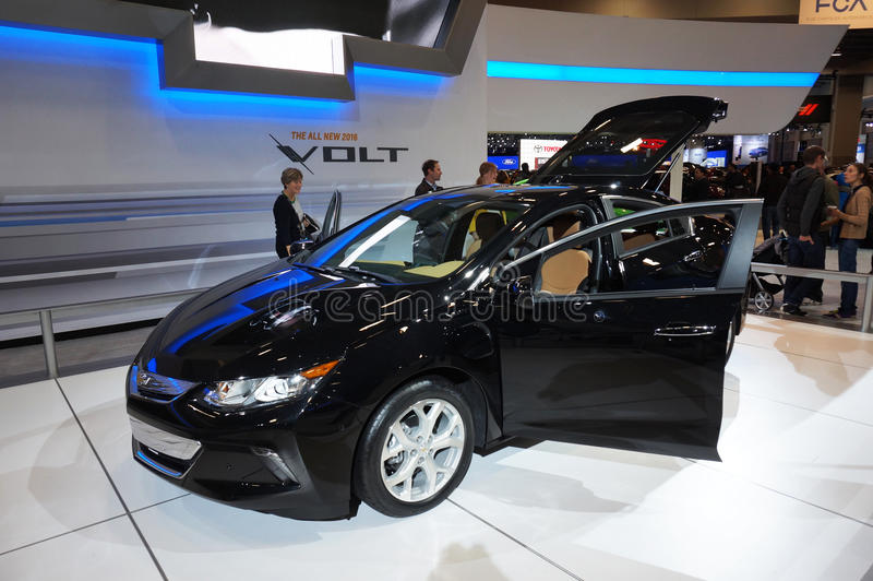 2016 Chevrolet Volt stock images