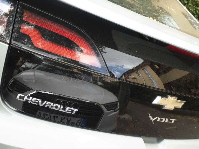 Chevrolet-Voltauto stock foto
