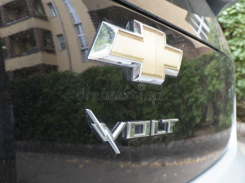 Chevrolet-Voltauto royalty-vrije stock fotografie