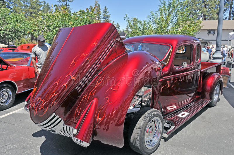 Chevrolet-Vrachtwagen royalty-vrije stock afbeelding