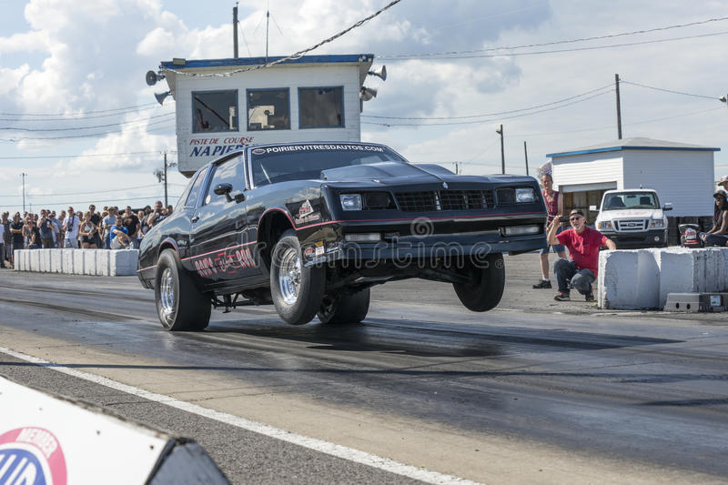 Chevrolet wheelie stock afbeelding