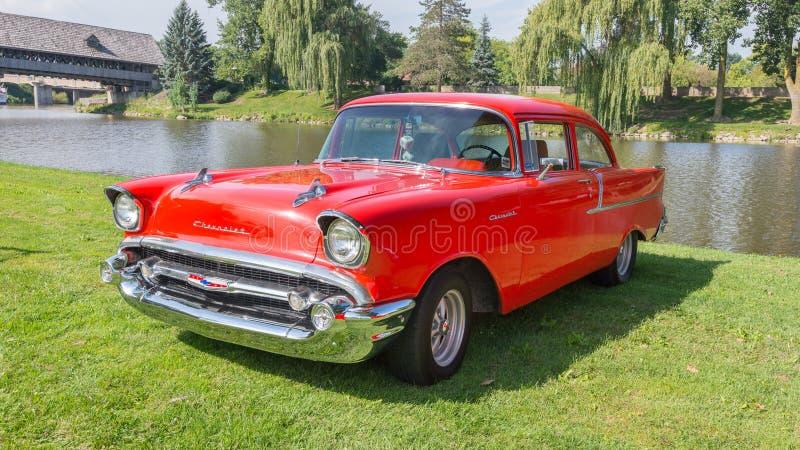 1955 Chevroleta Bela Powietrze zdjęcie royalty free