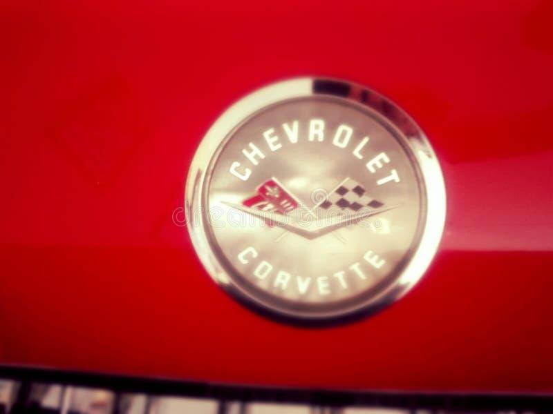 chevroleta korwety logo zdjęcie stock