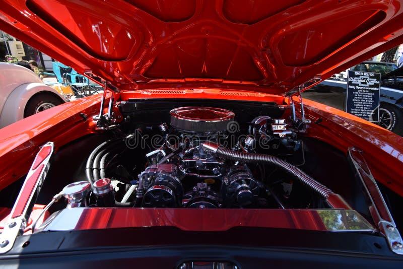 Chevroletet Camaro 1969 RS/SS, 1 royaltyfri foto