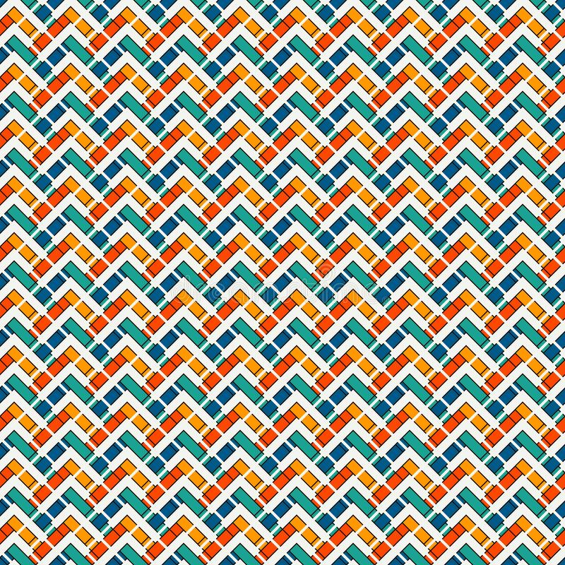 Free Chevron Diagonal Stripes Abstract Background. Seamless Surface Pattern With Geometric Ornament. Zigzag Horizontal Lines Stock Images - 164061004