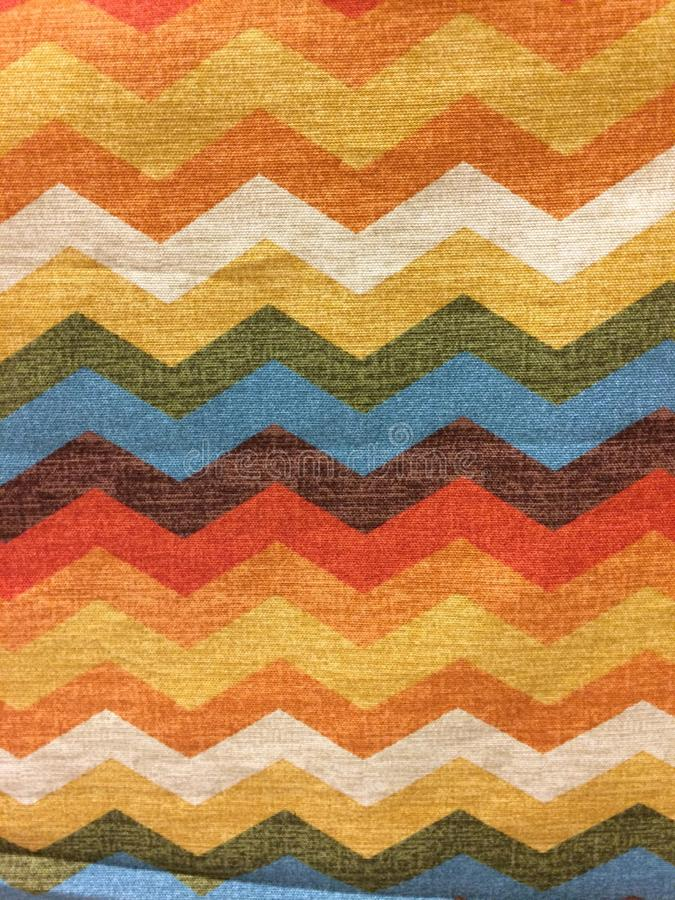 Chevron fabric stock photography