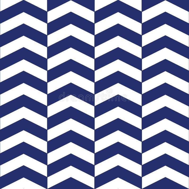 Chevron Geometrisch naadloos patroon royalty-vrije illustratie