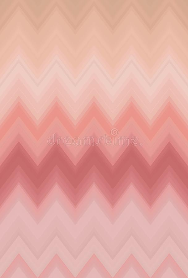 Chevron gradient smooth blur, zigzag pattern abstract art background trends royalty free illustration