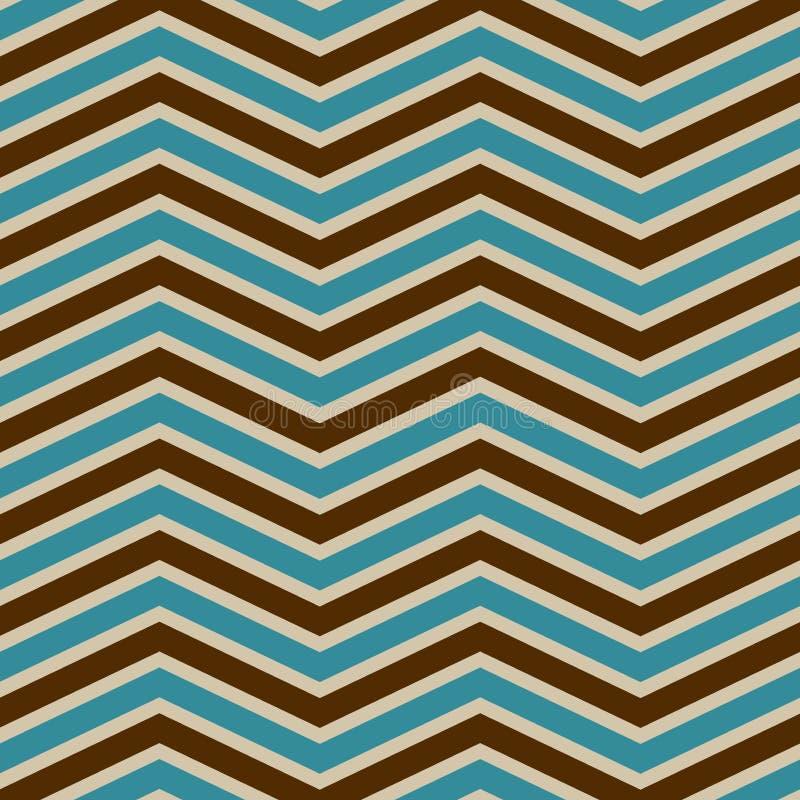 Chevron pattern. Vintage style wallpaper vector illustration