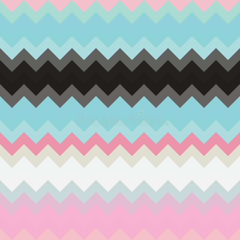 Chevron pattern background zigzag geometric, wallpaper illustration vector illustration
