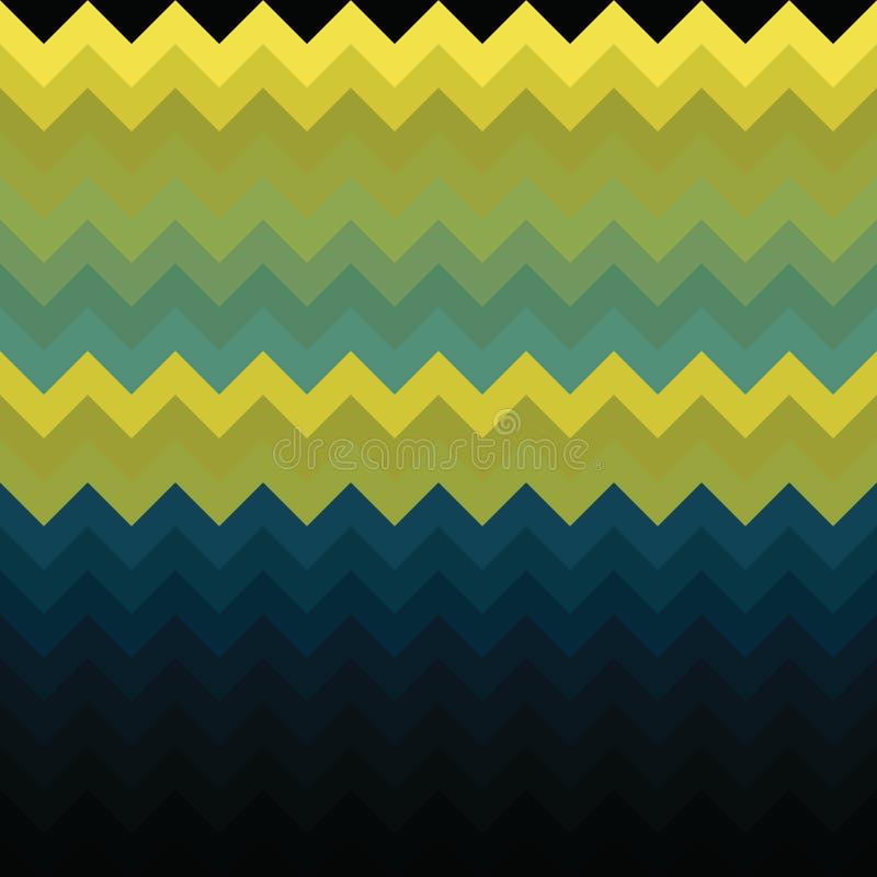 Chevron pattern background zigzag geometric, wallpaper modern royalty free illustration