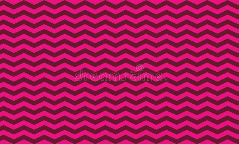 Chevron seamless pattern background. Paper, cover. Illustration design. Fabric, pink, wave, curve, wall, wallpaper, art, abstract, print, blanket, new, dress royalty free illustration
