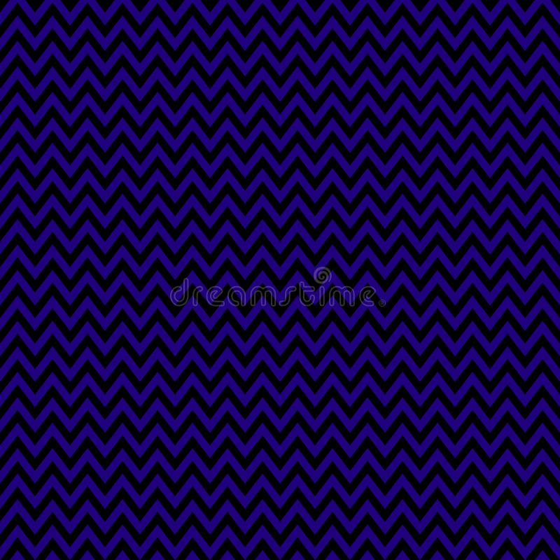 Chevron Seamless Pattern for Halloween. Traditional holiday colors, deep purple and black. Vector illustration vector illustration