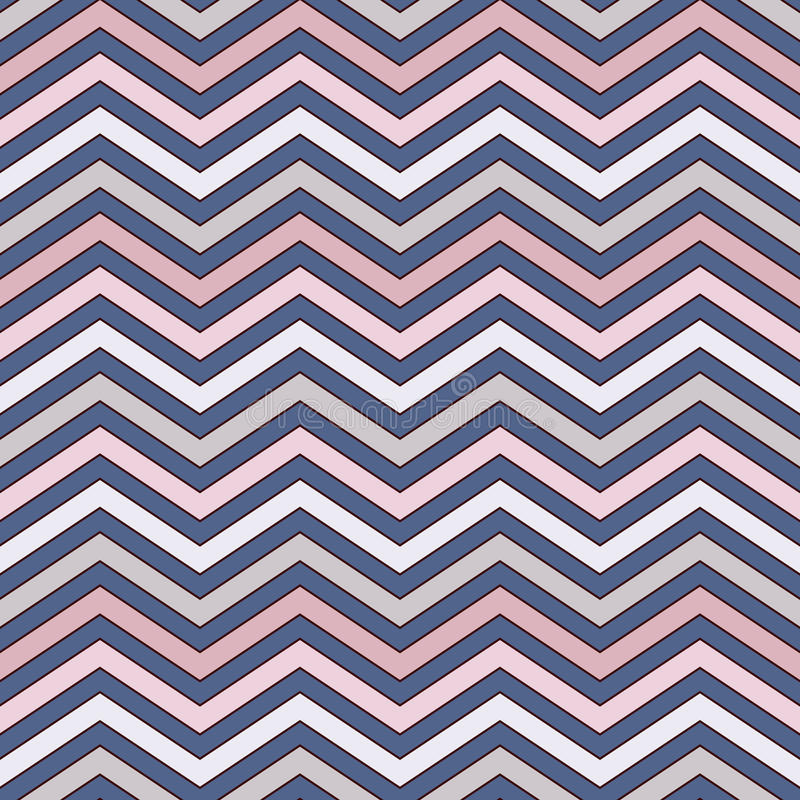 Chevron Stripes Background. Seamless Pattern With Classic