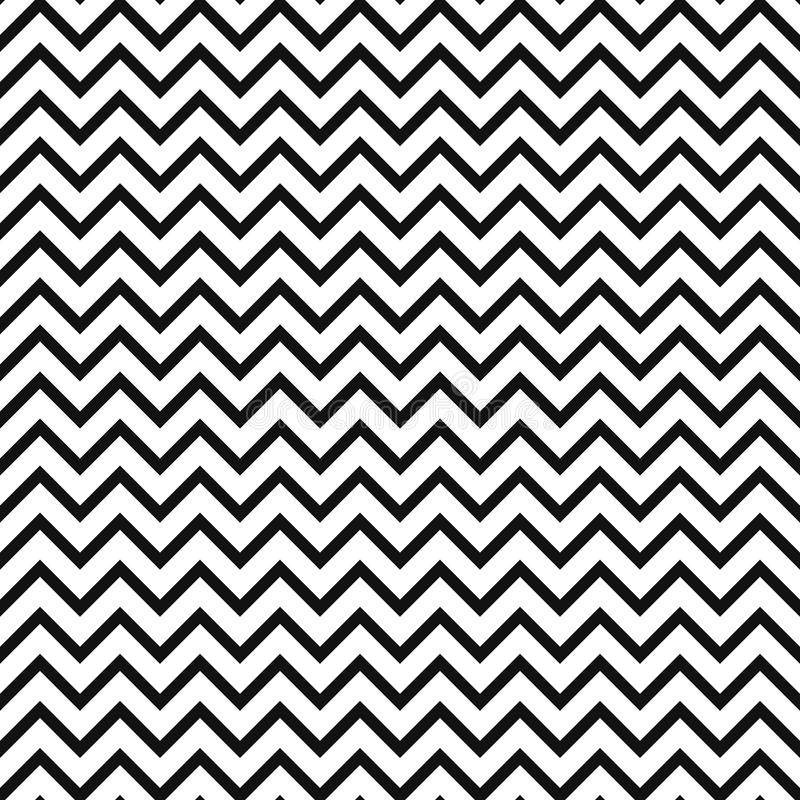 Download chevron zigzag black and white seamless pattern stock vector illustration of abstract