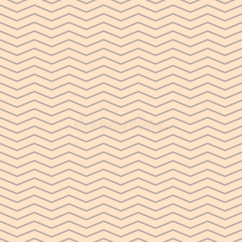 Chevron zigzag cream and beige seamless pattern. vector illustration
