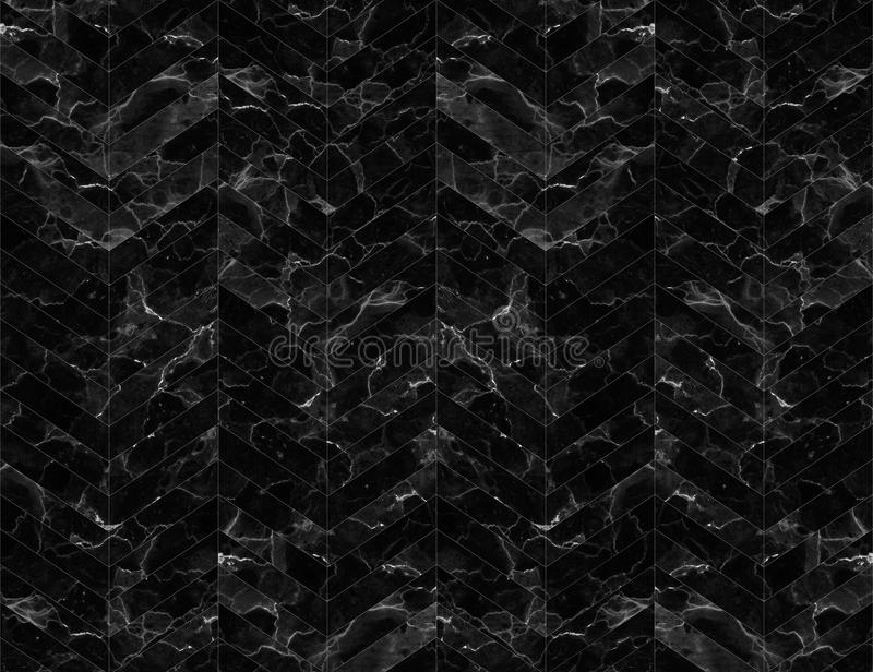 Chevron zigzag marble patterned background black and white. Chevron zigzag marble patterned wall for design. pattern for background or skin luxurious product stock photography