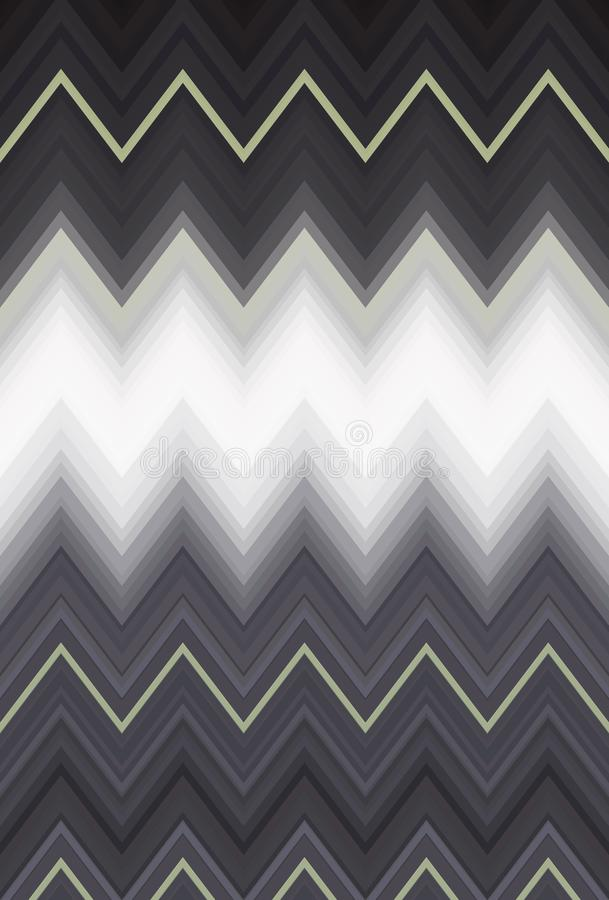 Chevron zigzag pattern abstract art background, color trends. Movement car light twilight, dramatic tone. Abstract rays colorful s. Chevron zigzag pattern vector illustration