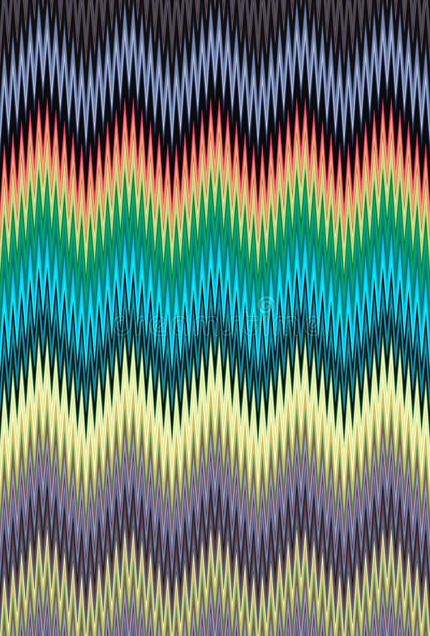 Chevron zigzag pattern multicolored background. art trends. Chevron zigzag pattern multicolored background abstract colorful. art trends stock photography