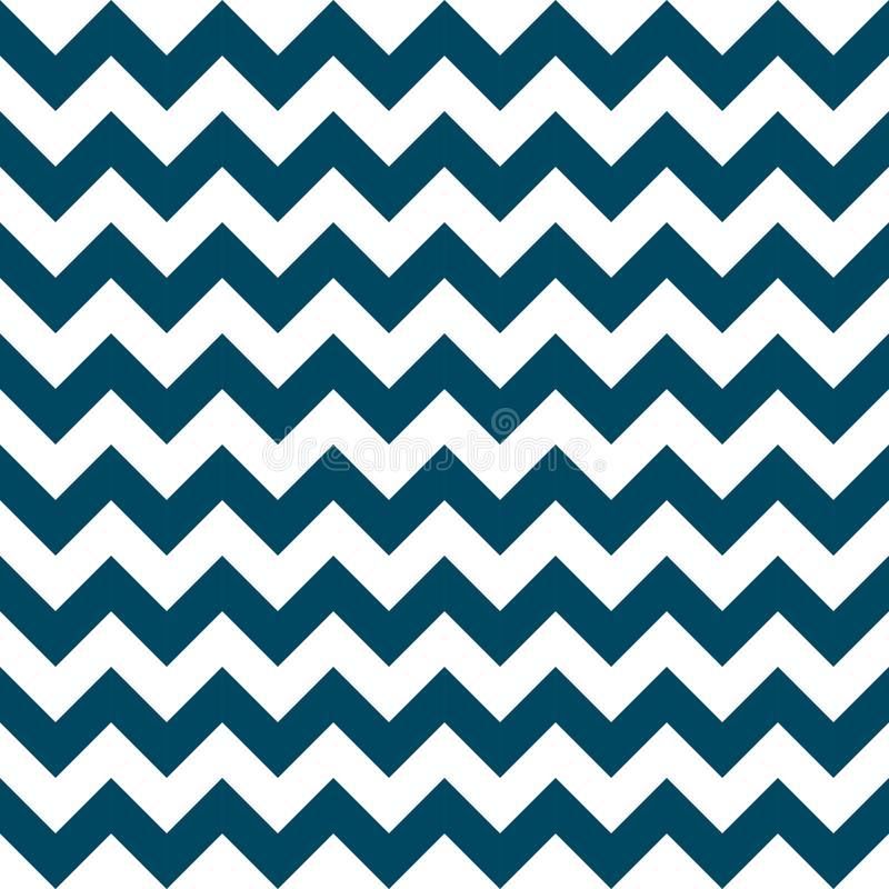 Chevron zigzag pattern seamless vector arrows geometric design colorful navy nautical blue white royalty free illustration