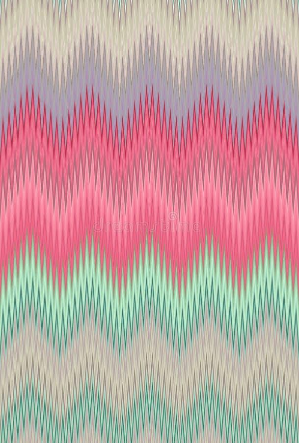 Free Chevron Zigzag Wave Pattern Abstract Art. Colorful Fashionable, Trendy, Stylish, Modish Seamless Background Trends Royalty Free Stock Photo - 142444465