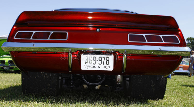 Chevy 1969 Camaro arkivbilder