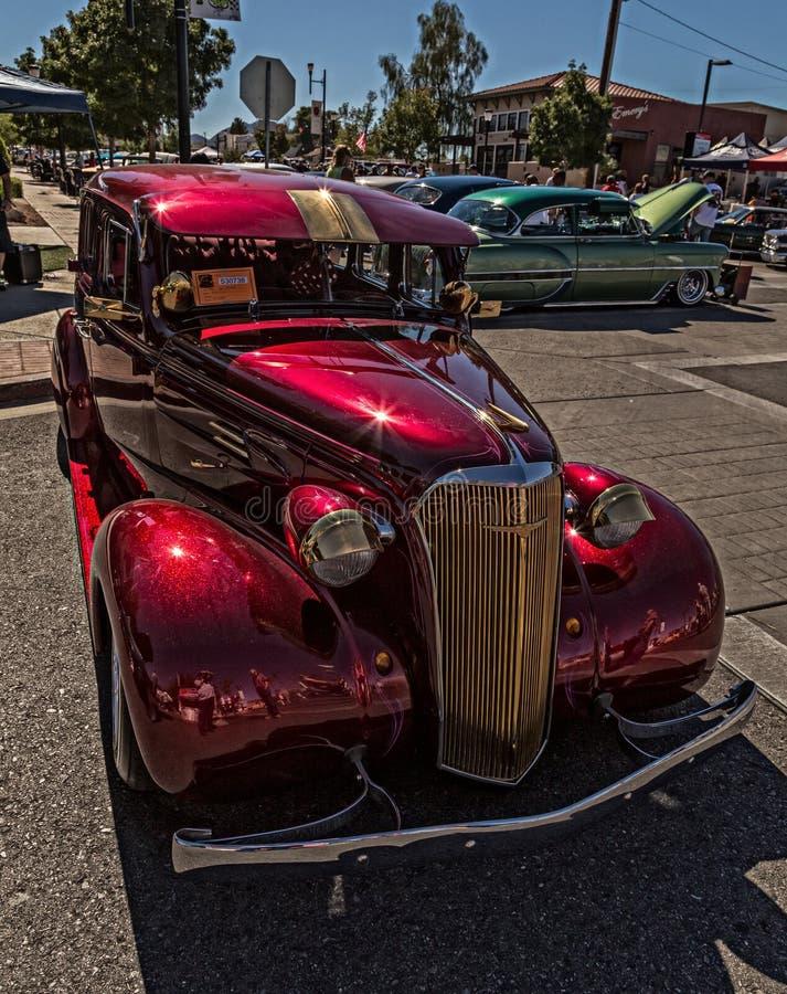 Chevy 1937 fotos de archivo