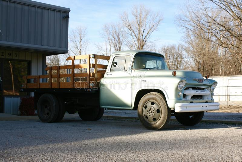 Chevy Antique Work Truck royaltyfria bilder