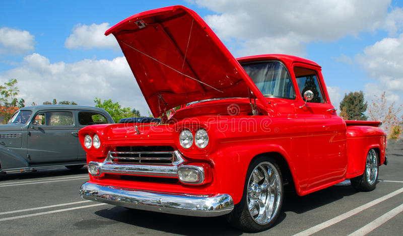 1958 Chevy Apache Pickup Truck royalty free stock images