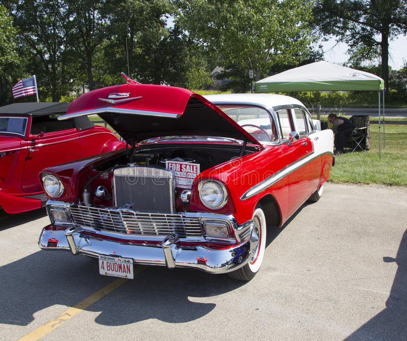 Chevy Bel Air 1956 image stock