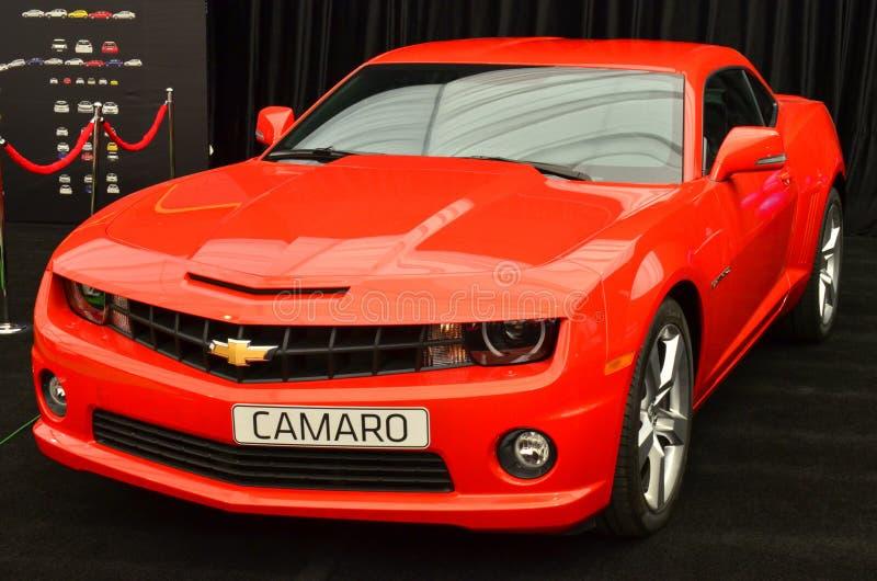 Chevy Camaro a SIAMB 2012 fotografie stock libere da diritti