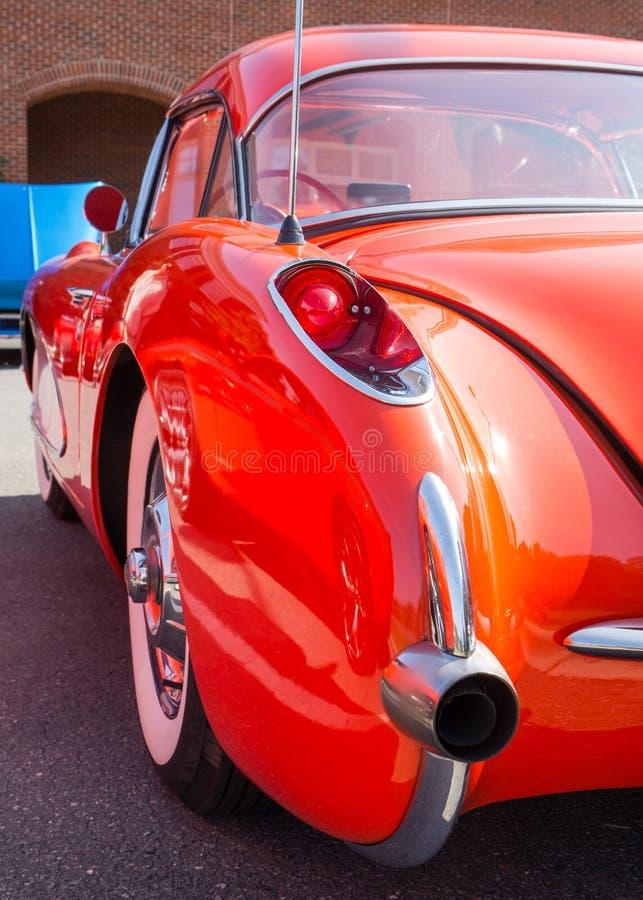 1957 chevy corvette arkivbild