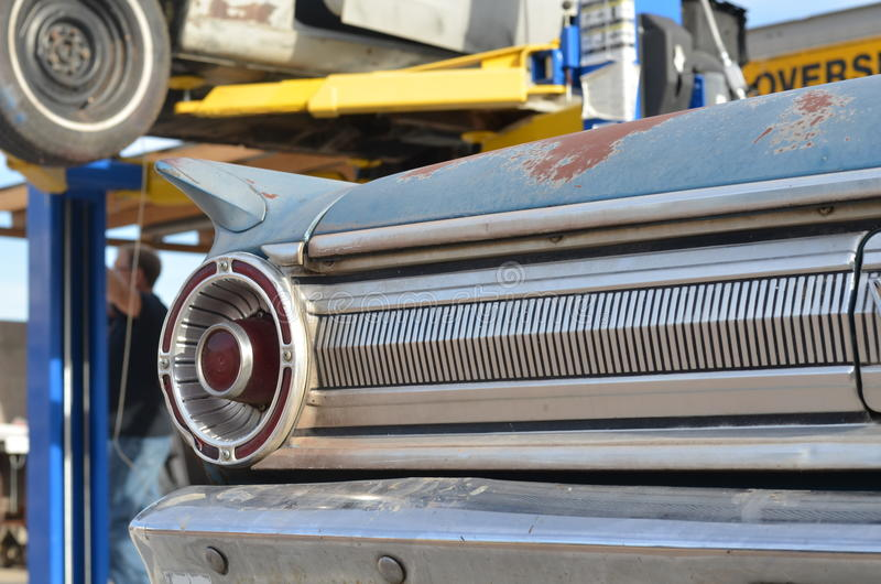 Chevy dans la cour photo libre de droits