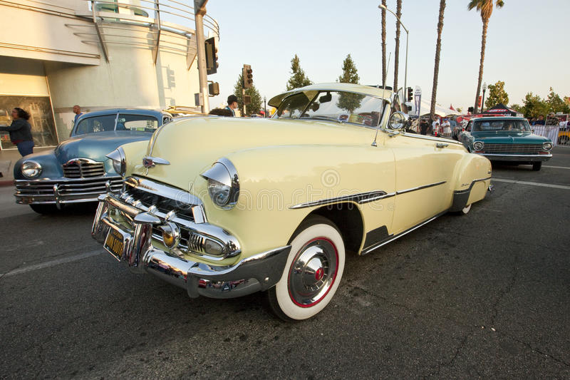 Chevy Deluxe Convertible Classic Car royalty free stock images