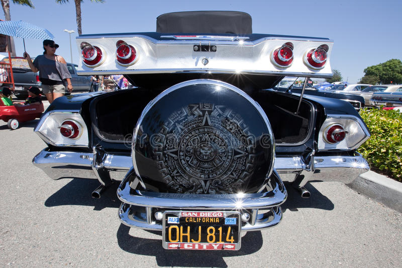 1963 Chevy Impala Custom Artwork stock photography