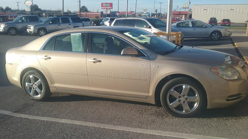 Chevy Malibu 2012 photo libre de droits