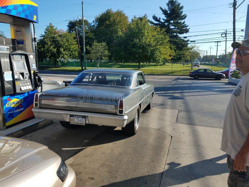 Chevy Nova imagem de stock