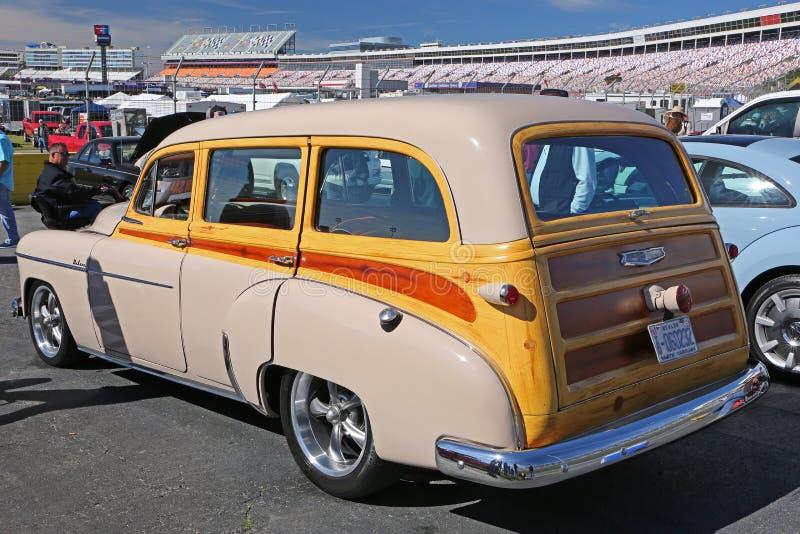 1950 Chevy Odrewniały zdjęcia royalty free