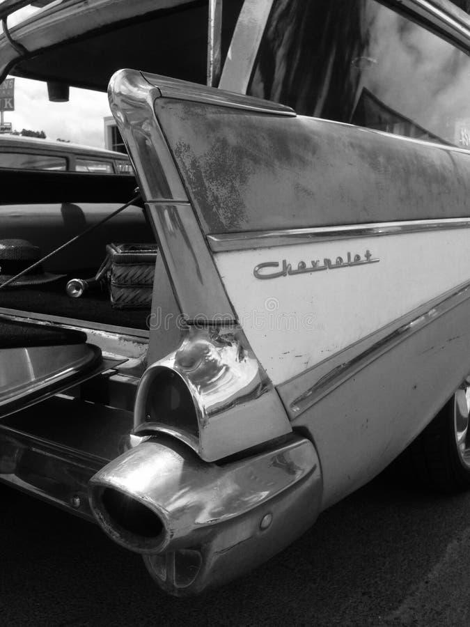 Chevy Wagon 1957 images libres de droits