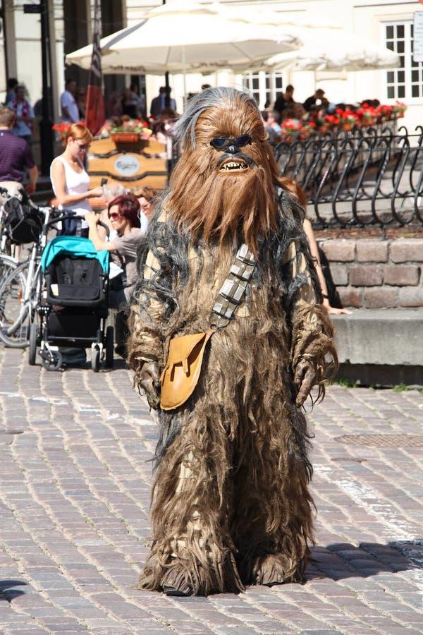 Chewbacca photo libre de droits