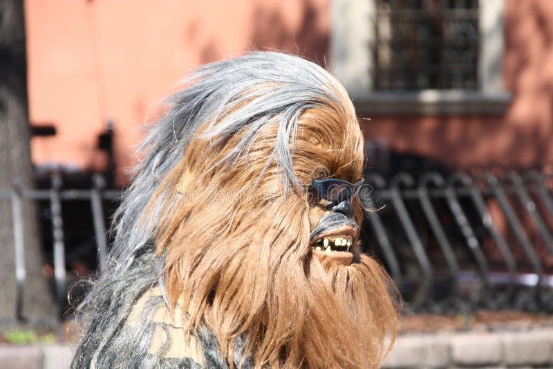 Chewbacca photographie stock libre de droits